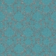 Touch of Sparkle Christmas Paper Damask Teal