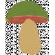 Enchanted- Painted Mushroom