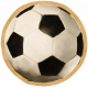Soccer Ball - Painted Sticker