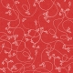 Touch of Sparkle Christmas Paper Holly Red