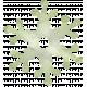 Snow Day Snowflake Green 002