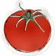 Kitchen Sticker Tomato