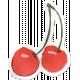 Kitchen Sticker Cherries