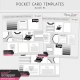 Pocket Card Templates Bundle #6