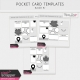 Pocket Card Templates Bundle #7