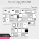Pocket Card Templates Bundle #9