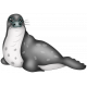 Perky Penguins - Seal Sticker