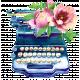 Jan 2021 DC - New Beginnings - Typewriter
