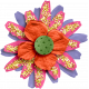 ::Raindrops & Rainbows Kit:: Layered Flower