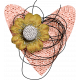 ::Retro Holly Jolly Kit:: Heart Cluster