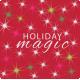 ::Holiday Magic Kit:: 5x5 Wordart Pocket Square