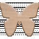 Genevieve Kit: Wooden Butterfly