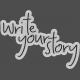 Sadie Camille Kit: Write Your Story Wordart