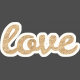 Alira Kit: Love Wordart