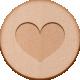 Bianca Romy Kit: Heart Wooden Disc