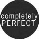 "Rebecca Kit: ""Completely Perfect"" Wordart"