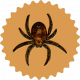 Elvira: Elements: Spider Badge