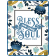 Navy Blue & Aqua Bless the Lord Pocket Card