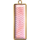Coral Pink Rectangle Brad