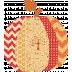 Autumn Fabric Pumpkin
