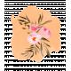 Pink & Orange Watercolor Flower Bouquet