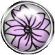 Purple Flower Brad