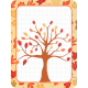 Autumn Pocket Journal Card with Tree