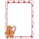 Christmas Gingerbread Pocket Journal Card