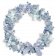 Winter Frost Wreath 06