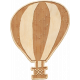 Etched Wood Hot Air Balloon