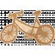 Etched Wood Bike