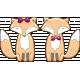 Fall in Love Mini Kit Cute Fox Couple