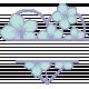 Lilac Aqua Element 20 Heart Frame