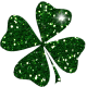 Saint Patrick Glitter Shamrock 02