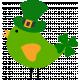Saint Patrick Bird with Hat 11