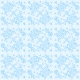Valentine Mini Blue Lace Patterned Paper 6