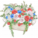 Valentine Mini Chipboard Bouquet