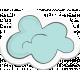 Retro Camper Add-On: Cloud Sticker 01