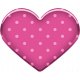 Retro Camper Add-On: Pink Dotted Heart