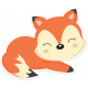 Retro Camper Kit Add-On: Fox Sticker