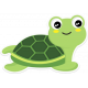Retro Camper Kit Add-On: Turtle Sticker