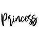 Who I am in Christ Add-On: Princess Sticker with slight shadow