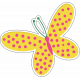 Who I am in Christ Add-On: Butterfly Sticker