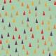 Kumbaya Mini Kit Triangle Patterned Paper