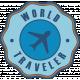 Around the World Mini Kit World Traveler Badge