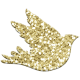 Wedding Mini Elements 01 Glitter Dove