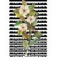 Patio Garden Element 08 Watercolor Flower & Leaves