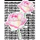 Bloom Pink Roses Sticker