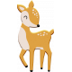 Scandinavian Element Chipboard Deer 2
