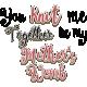 Knit Mini Kit: Bible Verse Word Art Psalm 139:13